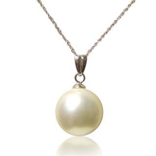 【小樂珠寶】純14K金南洋深海貝珍珠墬子(黃k台或白k台 隨機出貨喔)