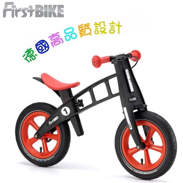 【網購】MOMO購物網【FirstBIKE】德國高品質設計 寓教於樂-兒童滑步車/學步車(黑金鋼橘紅)好嗎momo服務電話