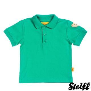 【STEIFF德國精品童裝】短袖 Polo 上衣 綠(Polo衫)