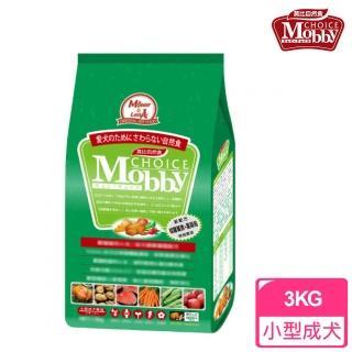 【莫比Mobby】小型成犬專用配方 雞肉+米 小顆粒(3公斤)