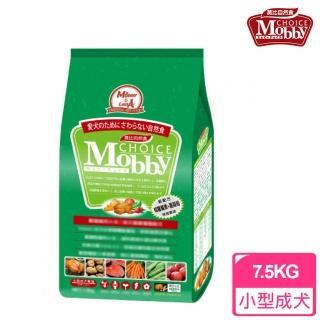【莫比Mobby】小型成犬專用配方 雞肉+米 小顆粒(7.5公斤)