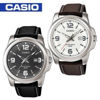【CASIO 卡西歐】時尚格調-品味紳士腕錶(MTP-1314L)