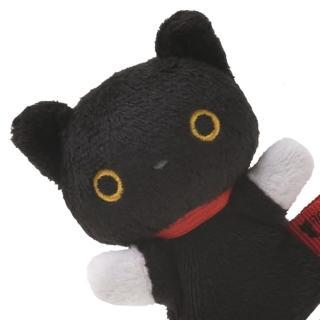 【San-X】San-X 小襪貓音樂幸運草系列毛絨指偶小公仔(小襪貓)