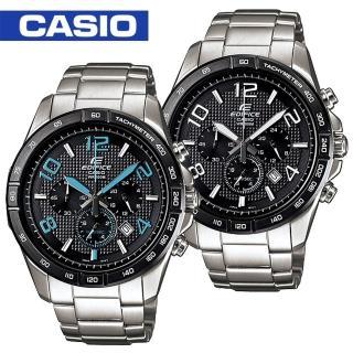 【CASIO EDIFICE系列】聯名紅牛競速賽車運動錶-藍X銀(EFR-537RB-1ADR)