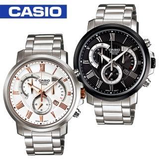 【CASIO 卡西歐BESIDE系列】送禮首選-時尚紳士腕錶(BEM-506BD-BEM-506CD)