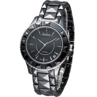 【Diadem】黛亞登 精彩切割造型時尚腕錶(7D5132SD)
