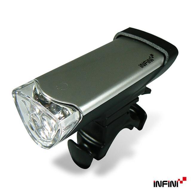 【好物分享】MOMO購物網【INFINI】LUXO 高亮度LED自行車前燈I105(銀)評價如何富邦多媒體