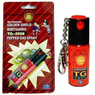 【金盾】強力噴霧防身器(鑰匙圈款TG-2508)
