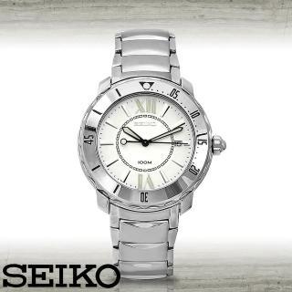 【SEIKO 精工】優雅錶盤設計時尚紳士錶(SKK891P1)