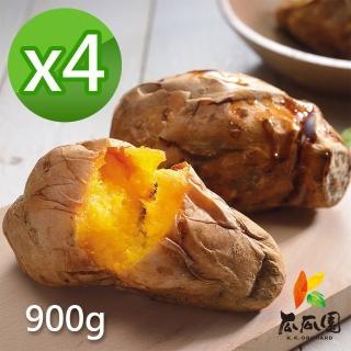 【瓜瓜園】冰烤番薯 4盒(900g/盒)