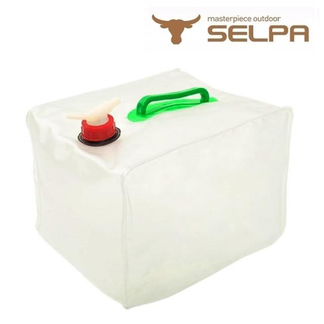 【好物推薦】MOMO購物網【韓國SELPA】多用途折疊水箱/20公升水桶/洗車/露營/澆花/飲水心得信用卡 momo