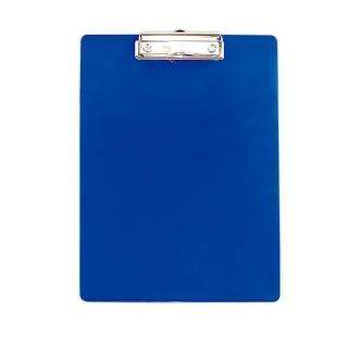 【ABEL力大牌】A4彩色透明板夾-直式(藍色)