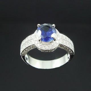 【Celosa珠寶】-追求幸福藍寶戒指