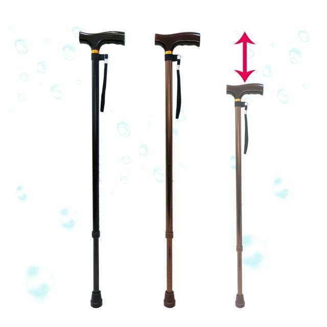 【舞動創意】仲群維醫momo tw療用手杖-未滅菌-鋁合金十段調整手杖(GT20052)