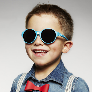 【法國KIETLA】Jokakids喬克帝幼兒太陽眼鏡(4-6 y/孔雀藍)
