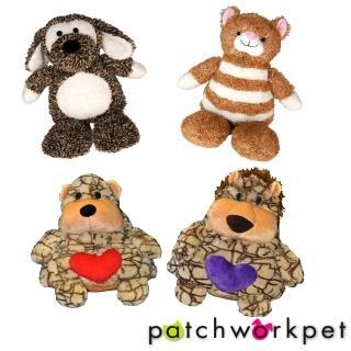 【Patchwork】可愛動物造型絨毛娃娃(9吋)