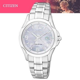 【CITIZEN 星辰】氣質優雅珍珠母貝錶面光動能女錶(EW1780-51A)