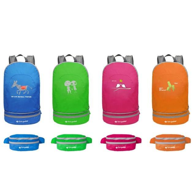 【好物推薦】MOMO購物網【PUSH! 戶外登山旅遊用品】可當腰包登山背包騎行包旅行包萬用旅行袋收納袋(一入)開箱m0m0購物網