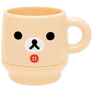 【San-X】拉拉熊簡單生活系列雙層疊疊水杯(懶妹)