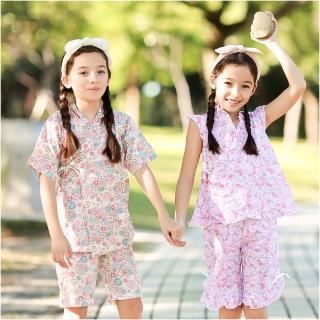 【baby童衣】女童和服 夏日短袖套裝42188(共二色)