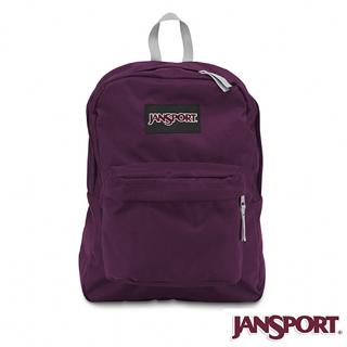 【Jansport】25L 簡單休閒後背包(神祕紫)