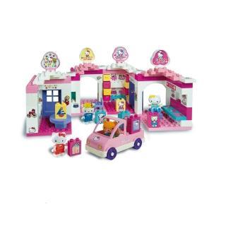 【義大利Unico】Hello Kitty-歡樂商店街組(新春玩具節大推薦)