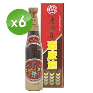 【丸吉】老陳年 純釀甲等壼底油膏420ml(6入)