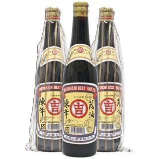 【丸吉】甲等 陳年蔭油膏 520ml(三瓶入)