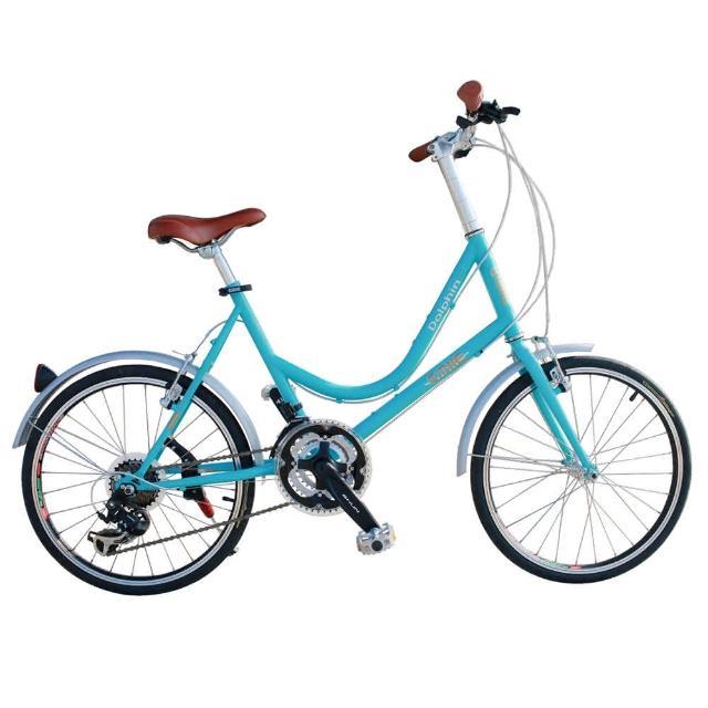 【開箱心得分享】MOMO購物網【AiBIKE】SHIMANO 21速 451版 巴黎經典 低跨點小徑車效果如何富邦momo電視購物頻道