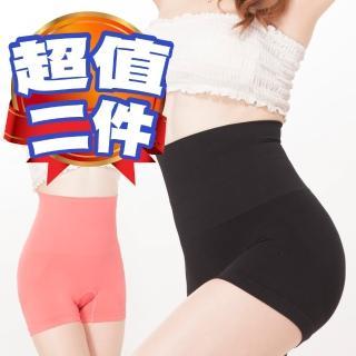 【JS嚴選】愛戀馬卡龍重機能超高腰極塑褲(超值二件)