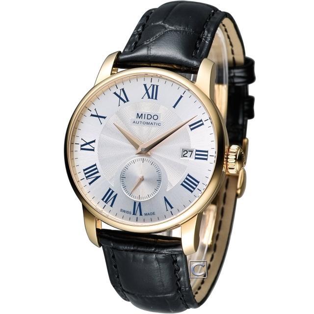 【MIDO】美度 Barmk 智慧oncelli II永恆系列小秒針機械錶(M86083214)