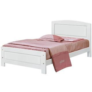 【顛覆設計】愛麗斯3.5尺白色單人床架(不含床墊)