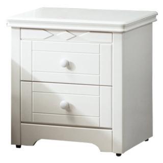 【顛覆設計】夏洛特純白色床頭櫃