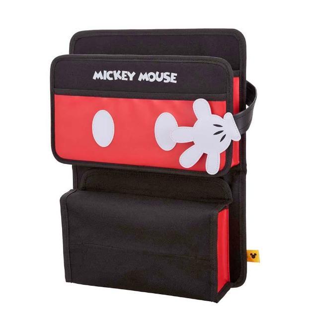 【好物分享】MOMO購物網【NAPOLEX】迪士尼 米奇多功能後座收納袋(紅黑)哪裡買m0m0旅遊