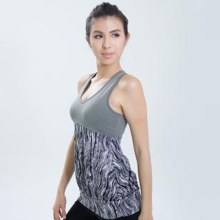 【Ms.Free】瑜伽Pro高階系列-罩衫式束擺輕量瑜伽背心