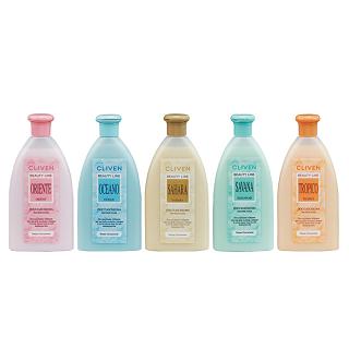 【CLIVEN香草森林】軟化角質香水沐浴乳3件香氛組(300mlx3)