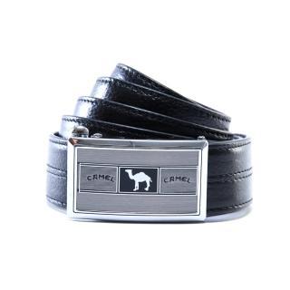 【CAMEL】經典卓越款自動滑扣真牛皮皮帶