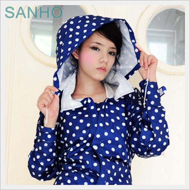 【真心勸敗】MOMO購物網【快速到貨】Sanho魅力清漾風雨衣(藍色)效果好嗎momo折價券使用