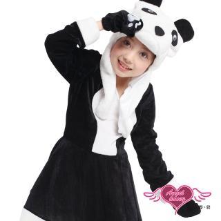 【天使霓裳】俏皮熊貓 萬聖節童裝系列(黑白)