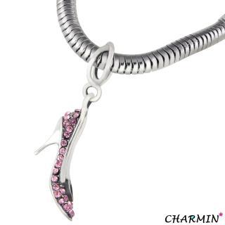 【E&I】CHARMIN 時尚創意手鍊半熟宣言925純銀造型串珠