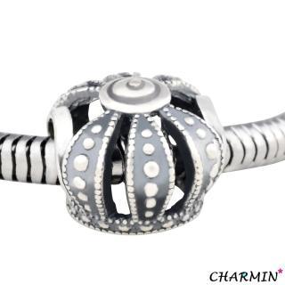 【E&I】CHARMIN 時尚創意手鍊王者之聲925純銀造型串珠
