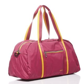 【KAWASAKI】超優質休閒旅行袋(桃_大)