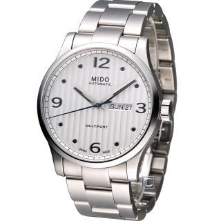 【MIDO】美度 Multifort系列尊爵機械錶(M0054301103000)