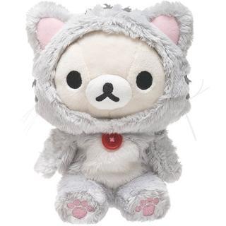 【San-X】拉拉熊悠閒貓生活系列毛絨公仔(懶妹)