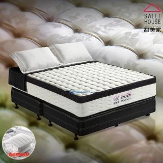【甜美家】綠能水冷膠三線硬式獨立筒乳膠床墊(雙人特大6X7尺)