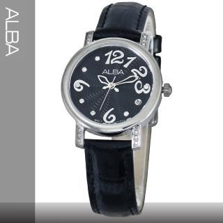 【SEIKO 精工 ALBA】送禮首選-浪漫水鑽系列女錶(AG8451X1)