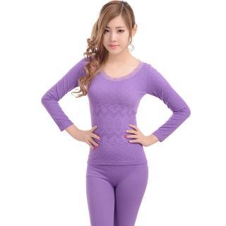 【韓依 HANN.E】FS-超保暖舒適美體睡衣(2015年韓日時尚紫羅蘭款-YP-28037-PU)