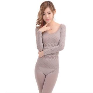 【韓依 HANN.E】FS-超保暖舒適美體睡衣(2015年韓日時尚咖啡款-YP-28037-BR)