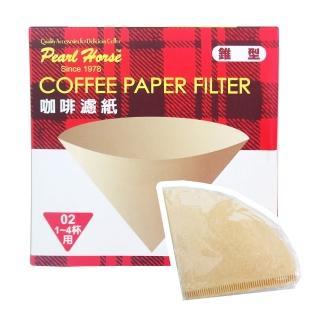 【寶馬牌】椎型咖啡濾紙-1-4杯用-40枚入×6盒