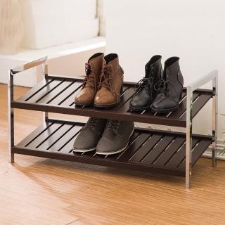 【樂活玩家】典雅實木鞋架